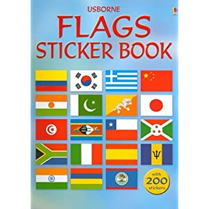 Flags Sticker Book (Spotter's Guides Sticker Books)