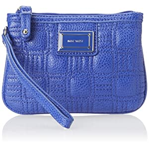 Nine West Show Stopper SLG Wallet,Blue,One Size