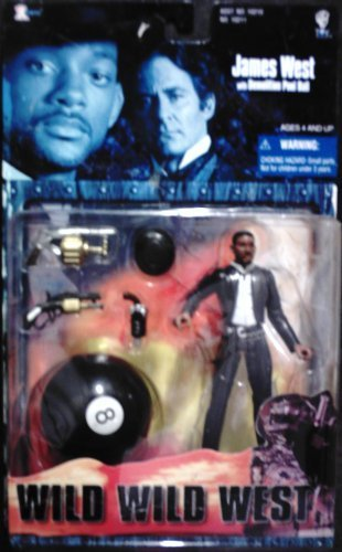 Wild Wild West:The Movie Will Smith As James West with Demolition Pool Ball by 1999 Xtoys, Inc. online bestellen