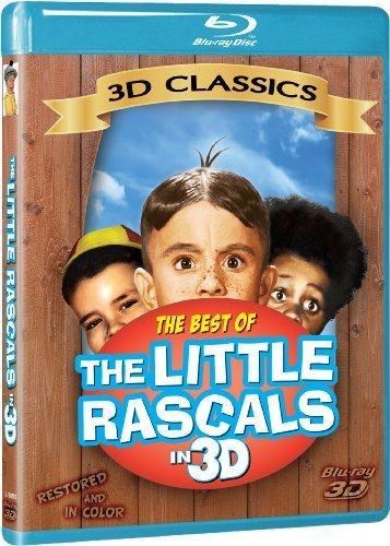 Little Rascals: Best of Our Gang [3D Blu-ray] by 3D Classics