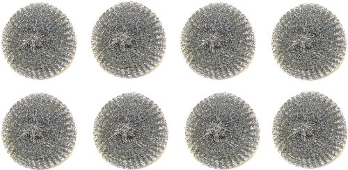 Tool Wizard BBQ Brush Replacement Scrubbers - 8 Pack
