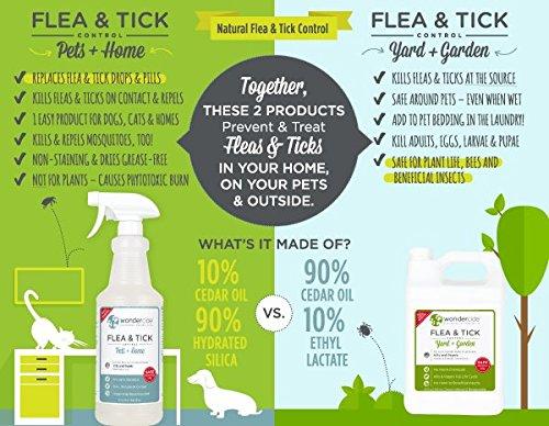 Natural Flea And Tick Yard Spray Kill Control