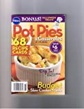 Pot Pies and Casseroles (68 Recipe Cards)