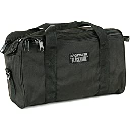 BlackHawk Pistol Range Bag SPORTSTER Bag Black Nylon 74RB02BK