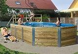 Weka Pool Korfu 2 Komplettset inkl. Sandfilteranlage und Ein...