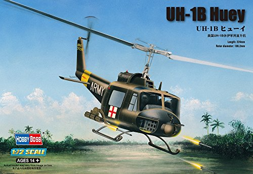 Hobby Boss UH-1B Huey Helicopter Model Building Kit
