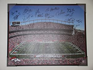 Super Bowl XLVIII Bound! 2013 Denver Broncos Team Autographed Signed Sports Authority... by Southwestconnection-Memorabilia