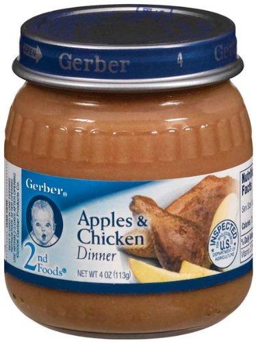 Baby Food Dinners Chicken Gerber 2nd Foodschicken Rice Baby