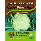 Organic Snowball Improved Cauliflower S