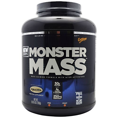 Cytosport, Monster Mass, 5.95 Lbs., 2700 Grams, Vanilla Crème