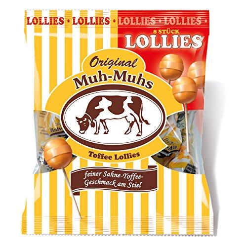 Original Muh-Muhs Toffee Lollies (8 Stück)