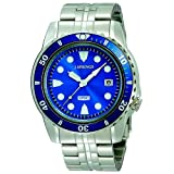 J. Springs Prestige Sports Blue Dial Stainless Steel Case And Bracelet Watchby J Springs