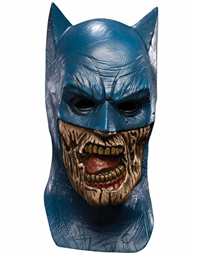Adult Batman Blackest Night Zombie Overhead Latex Costume Mask