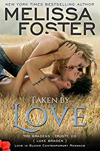 Taken By Love: Luke Braden by Melissa Foster ebook deal