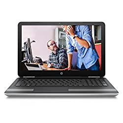HP Pavilion 15-AU008TX 15.6-inch Laptop (Core i7-6500U/16GB/2TB/Windows 10 Home/4GB Graphics), Natural Silver