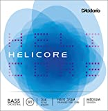 D\'Addario Helicore Orchestral Bass String Set, 3/4 Scale, Medium Tension