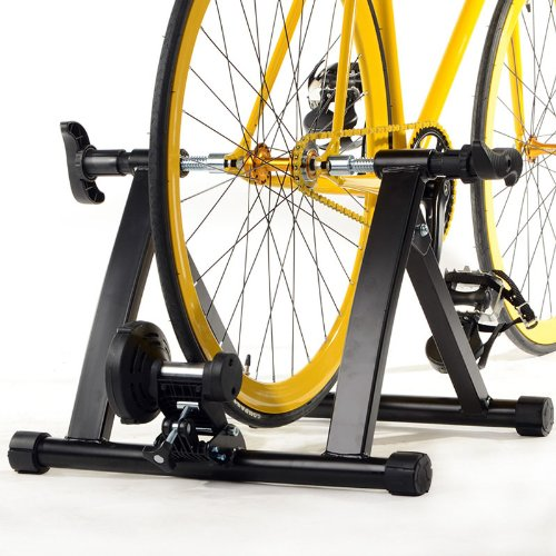 Radical Deal Indoor Magnet Steel Bike Bicycle Exercise Trainer Stand Resistance Stationary