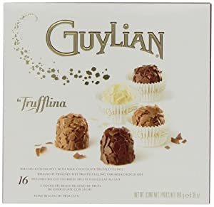 Guylian Belgium Chocolates La Trufflina Assortment, 6.35-Ounce Boxes (Pack of 2)