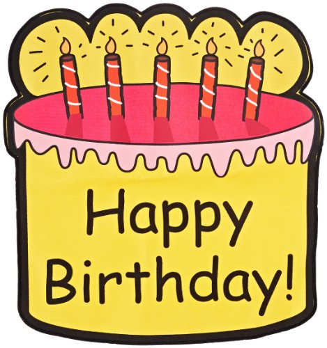 Childcraft Celebration Seat Pockets - Happy Birthday! front-962562