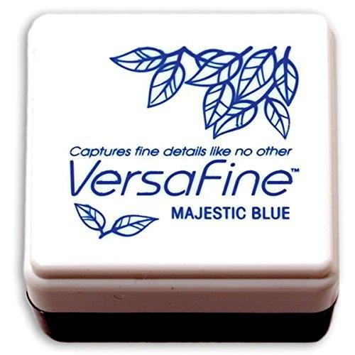 Tsukineko Small-Size VersaFine Instant Dry Pigment Ink, Majestic Blue (Color: Majestic Blue)