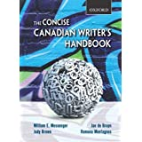 The Concise Canadian Writer's Handbookby William E. Messenger