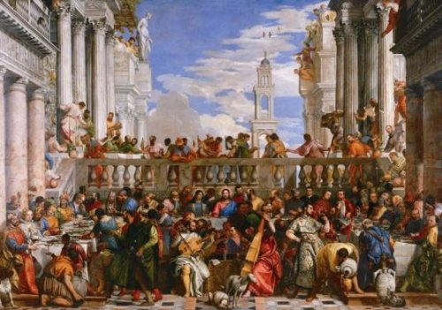 Wentworth The Wedding at Cana 250 Piece Wooden Paolo Veronese Jigsaw Puzzle