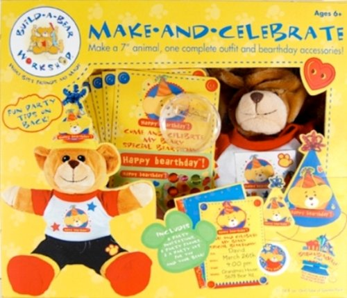 Build A Bear Party Supplies