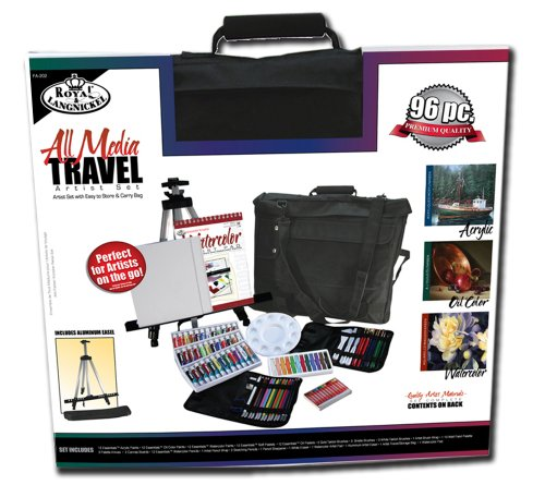 Royal & Langnickel All Media Travel Artist Set