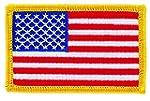 Patch �cusson brod� drapeau usa etats...