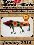 Top25 Best Sale - Higher Price in Auction - Vintage Individual Lure - January 2014