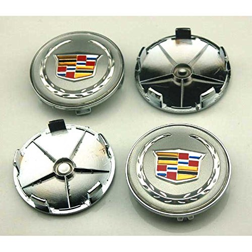 4pcs W037 68mm Car Styling Accessories Emblem Badge Sticker Wheel Hub Caps Centre Cover Cadillac ATS CTS EXT SRX XTS XLR (Cadillac Car Stickers compare prices)