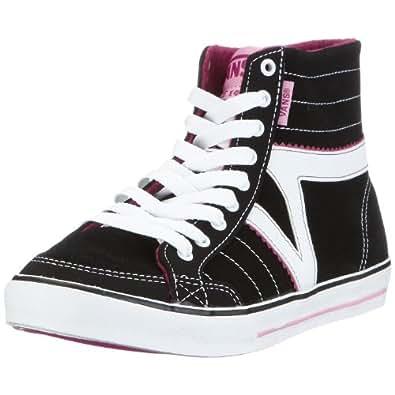 Vans vkwl1hl corrie hi women 39 s hi top trainers black for Vans amazon
