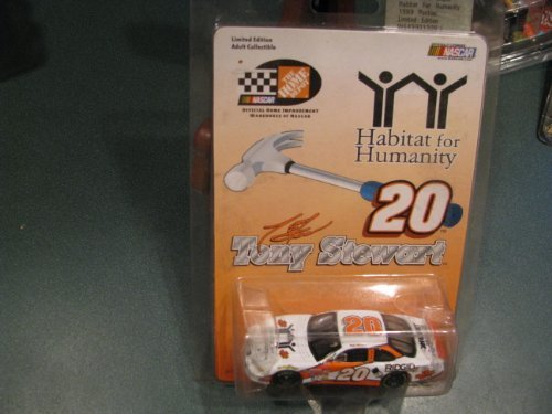 Tony Stewart #20 Habitat for Humanity Ridgid Husky Home Depot 1/64 Action Racing Collectables ARC With Yellow Rookie Stripes by Action Performance - 1
