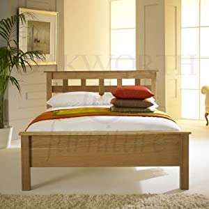 Hereford Solid Oak Bed Frame (4ft6 - Double)
