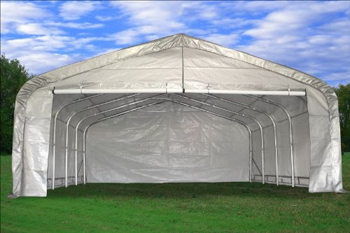 20'x20' Heavy Duty Garage Storage Canopy Shed Car Truck Boat Carport