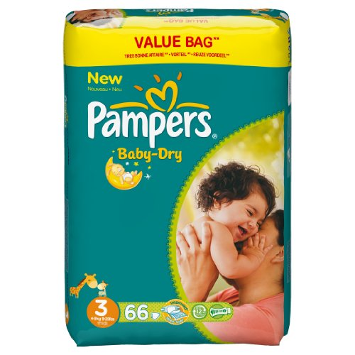 Pampers Baby Dry Couches Midi 4-9 kg Taille 3