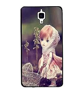 Fuson Premium 2D Back Case Cover Stylish girl With Multi Background Degined For Xiaomi Redmi Mi4::Xiaomi Mi 4