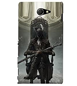 PRINTSHOPPII DEATH GAME Back Case Cover for Sony Xperia M2 Dual D2302::Sony Xperia M2