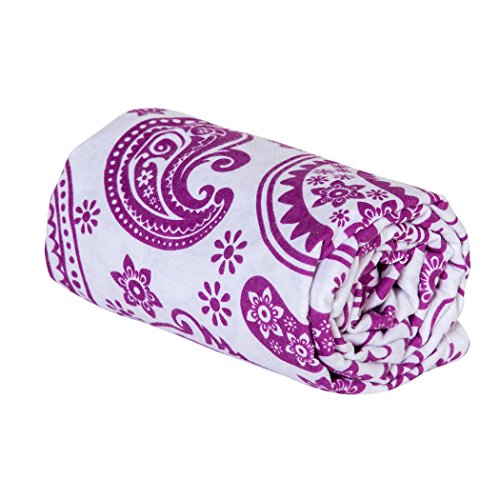 Trend Lab Swaddle Blanket, Orchid Paisley