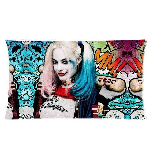 Trendsetter Harley Quinn Suicide Squad Poster Custom federa cuscino federa Casa Cuscino decorativo, 20x 36(2lati)
