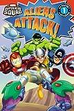 Super Hero Squad: Aliens Attack! (Passport to Reading Level 1)