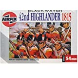 [AirFix] Model Kit 54Mm 42Nd Highlander 1815 1000E (01552) /item# R6SG5EB-48Q3695