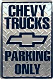 Chevy Truck Parking Only - Parking Sign