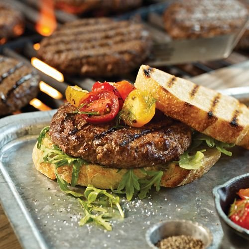 Omaha Steaks 24 (4 oz.) Omaha Steaks Burgers omaha steaks 8 oz beef summer sausage