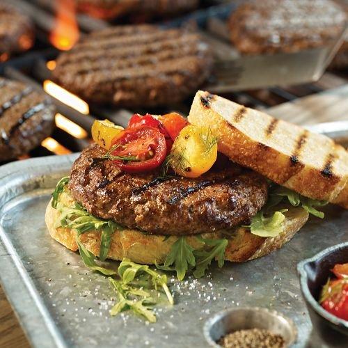 Omaha Steaks 12 (4 oz.) Omaha Steaks Burgers via Amazon