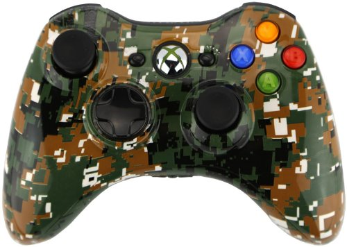 Viper Controllers - Army Camo Modded Controller - Xbox 360