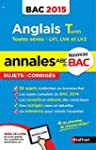 Annales ABC du BAC 2015 Anglais Term...
