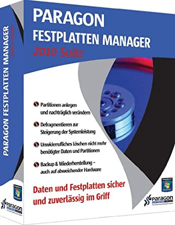 Paragon Festplatten Manager 2010 Suite