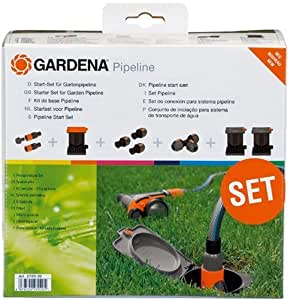 gardena 2702 20 sprinkler system start set f r garten. Black Bedroom Furniture Sets. Home Design Ideas
