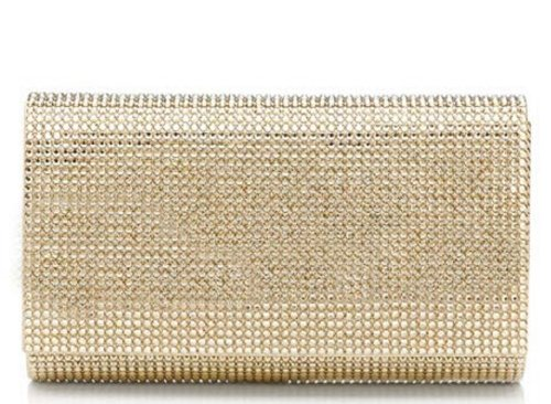 new-judith-leiber-champagne-gold-classic-crystal-fizzy-bead-clutch-retail-1995